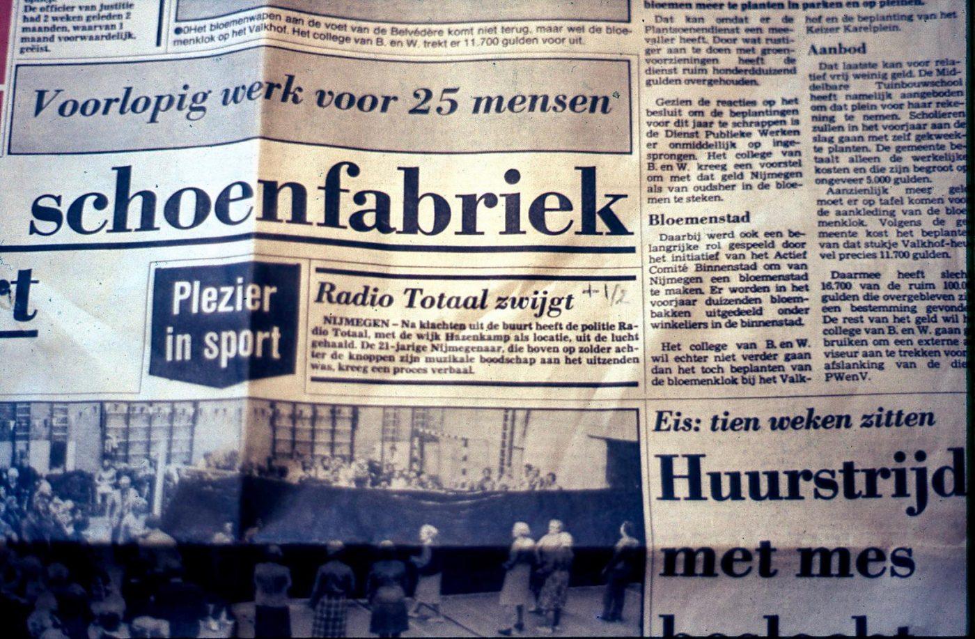 artikel gelderlander radio totaal zwijgt