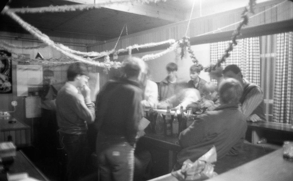 Feestje in de bar