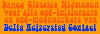Het logo van de reünie in het Kolpinghuis.