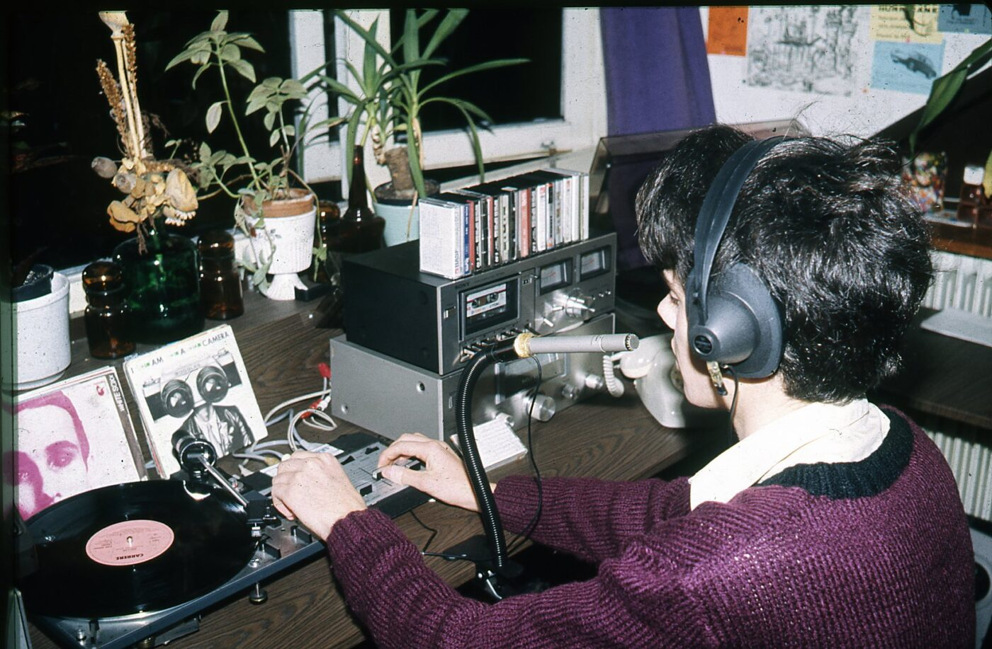 opnamestudio op zolder vossenlaan 1982