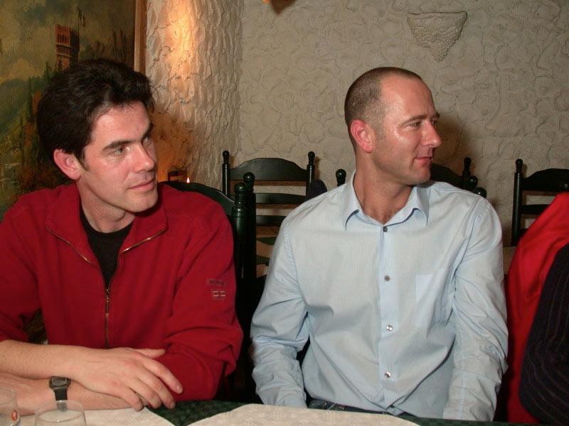 Peter van Alphen en Michel van Keulen