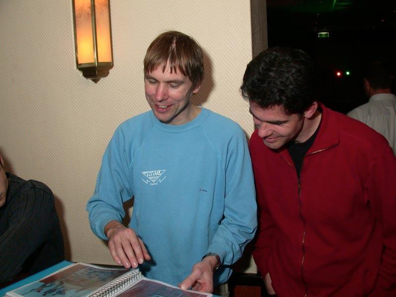 Rob v.d. Heuvel en Peter van Alphen